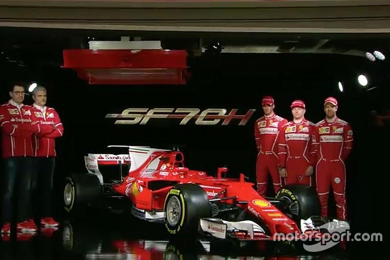 Ecco la prima immagine della Ferrari SF70H!