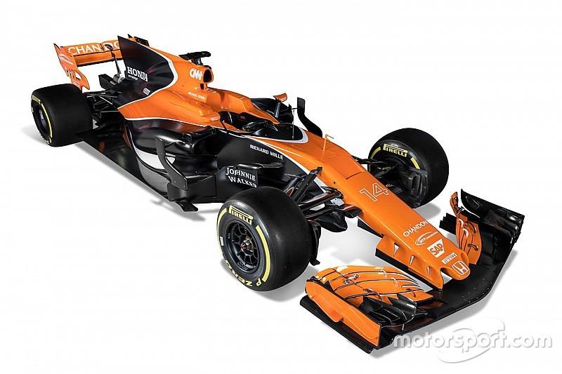 McLaren-Honda dévoile la MCL32