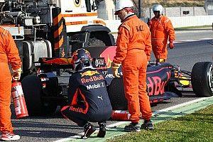 【F1】リカルド、2度トラブルに見舞われるも「心配していない」