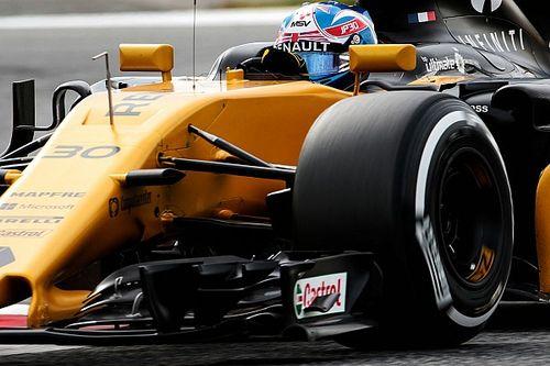 Palmer salue les progrès du châssis et du moteur Renault