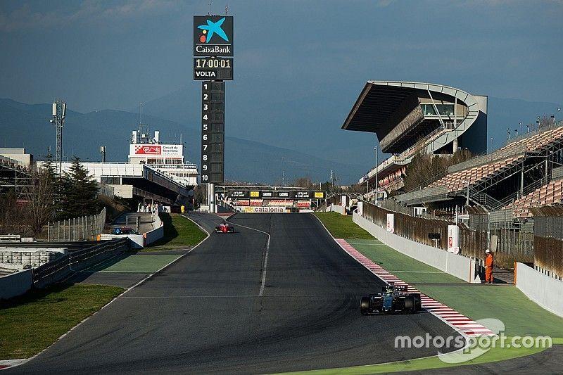 Gallery: Barcelona F1 testing week one testing times
