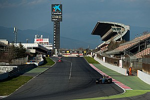 Formula 1 Special feature Gallery: Barcelona F1 testing week one testing times