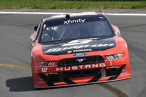 Logano leads final Xfinity practice at Watkins Glen