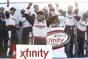 NASCAR XFINITY Race report Hornish prevails in crash-filled NASCAR Xfinity race at Mid-Ohio