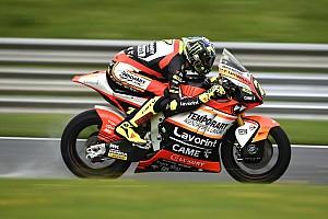 Moto2 Verslag vrije training Baldassarri glibbert naar P1 in warm-up vol crashes