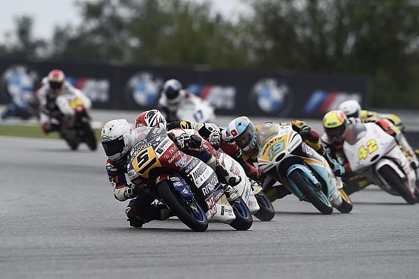 Гонщики Мото3 поругались на трассе