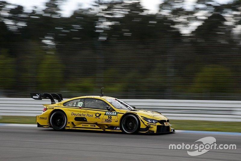 Glock ends Hockenheim DTM testing fastest
