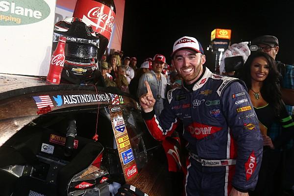 Остин Диллон одержал первую победу в NASCAR Cup