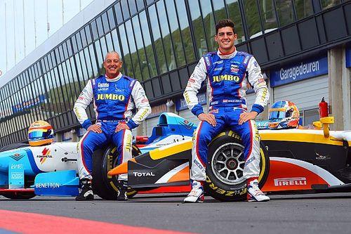 Rinus van Kalmthout in actie tijdens Jumbo Racedagen 'driven by Max Verstappen'
