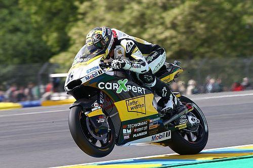 【Moto2】フランス予選:ルティがレコード更新PP。中上苦戦し18位