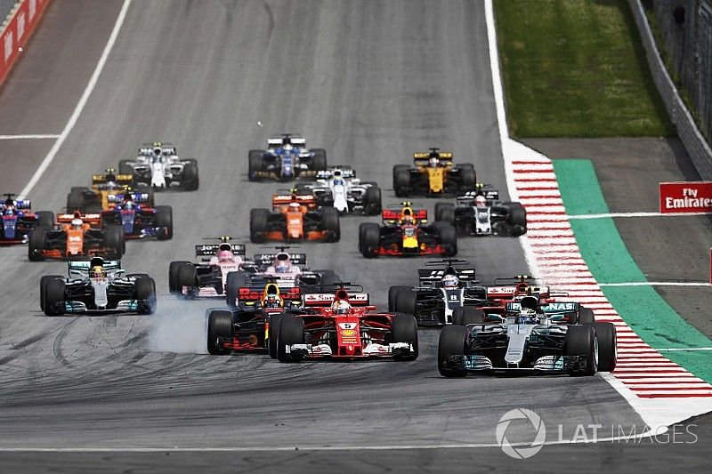 Formel 1 2017 in Spielberg: Das Rennergebnis in Bildern