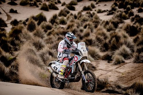 Dakar 2017, Stage 10: Santosh ascends, TVS Sherco's Metge shows strong pace