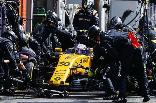 В Renault похвалили Палмера за лучший уик-энд в году