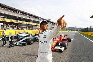 比利时大奖赛排位赛:汉密尔顿轻松摘杆位,追平舒马赫纪录