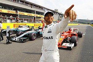 """Hamilton: """"Irreale avere 68 pole come una leggenda come Schumi!"""""""
