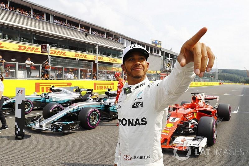 Hamilton logra su pole número 68 igualando a Schumacher