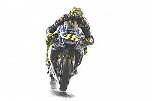 VIDEO: Kecelakaan Rossi di FP4 Motegi