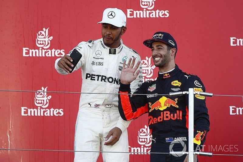 """Ricciardo admite: """"me gustaría ser coequipero de Hamilton"""""""
