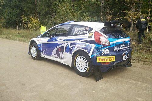 Kalle Rovanperä è il più veloce nella Qualifying Stage del Rally Liepāja