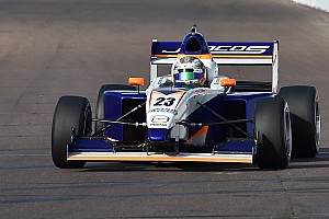 Pro Mazda Qualifying report Indy GP Pro Mazda: Franzoni takes dominant pole