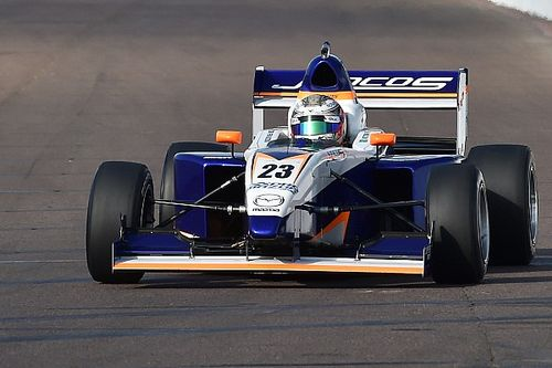 Indy GP Pro Mazda: Franzoni takes dominant pole