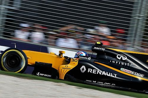"""Palmer aware he is expected to be """"blown away"""" by Hulkenberg"""