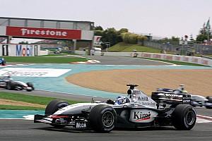 In beeld: Alle F1-wagens van Kimi Raikkonen
