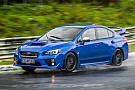 Automotive The Subaru WRX STI is perfect for lapping the 'Ring in the rain