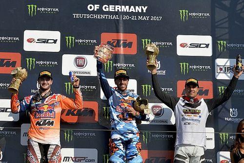 Cairoli y Seewer se lucen en el GP de Alemania de MXGP
