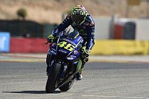 32'000 euros pour une Yamaha R1 dédicacée par Rossi