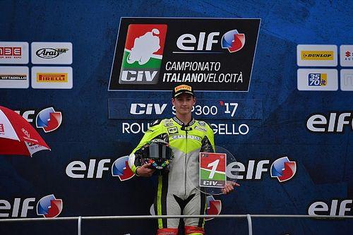 Luca Bernardi si laurea campione della Supersport 300 al Mugello