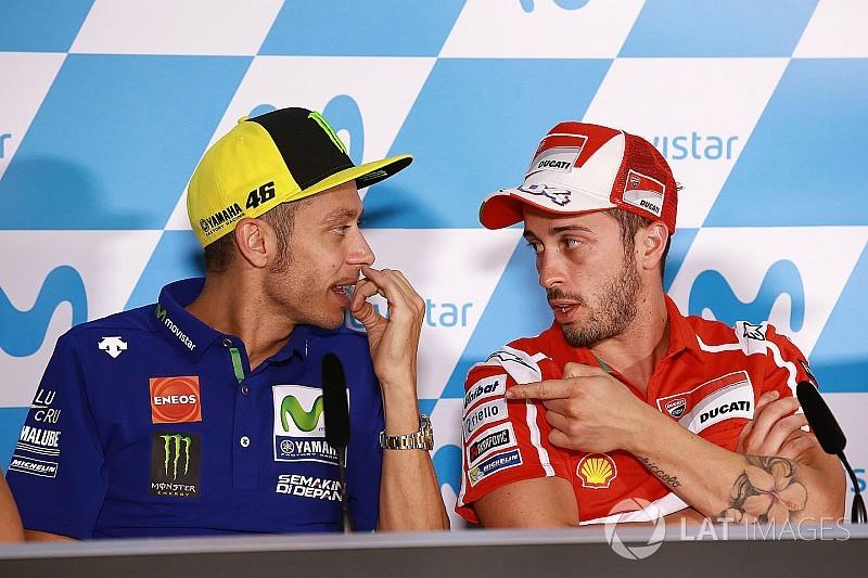 """Dovizioso: """"Me fascina que vuelva Rossi, no lo entiendo"""""""