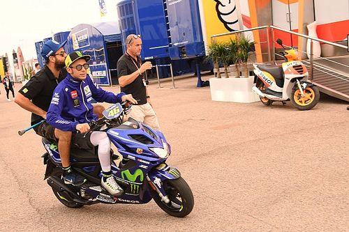 "Valentino Rossi ""un peu cuit"" mais ""très fier"" de sa performance"