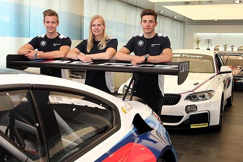 Former Red Bull junior Visser joins BMW junior programme
