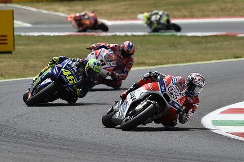 """Dovizioso: """"MotoGP-rijders moeten wel risico nemen tijdens het trainen"""""""