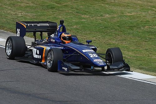 Road America Indy Lights: Leist leads Carlin 1-2 in qualifying