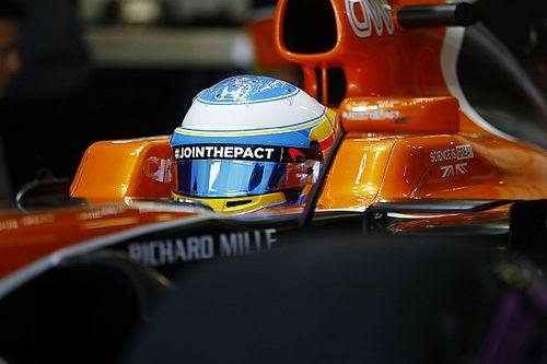"""Alonso: """"McLaren verliest drie seconden op rechte stukken Sochi"""""""