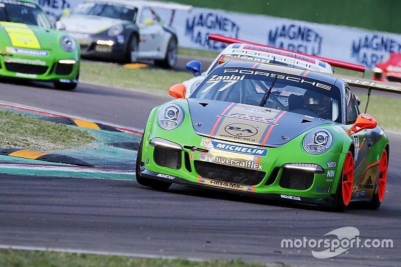 "Carrera Cup Italia, Imola: ""scatto"" di Zanini in Michelin Cup"