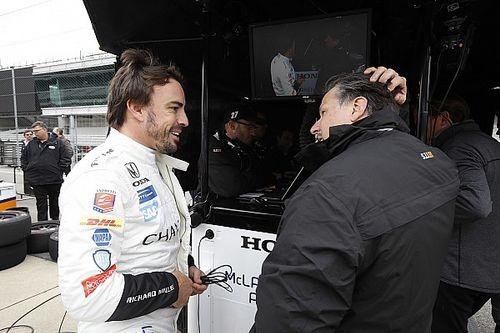 """Michael Andretti: """"La primera prueba de Alonso fue perfecta"""""""