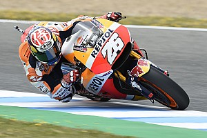 MotoGP Qualifying report Jerez MotoGP: Pedrosa beats Marquez in thrilling pole duel