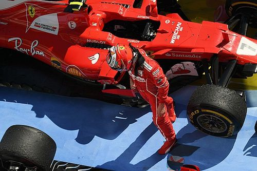 Räikkönen advierte que no corre para ser segundo