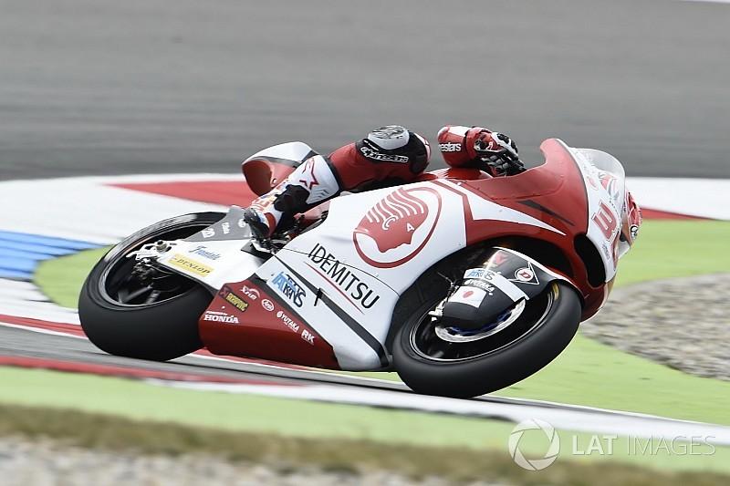【Moto2】アッセン予選:中上悔しい2番手。モルビデリに0.1秒届かず