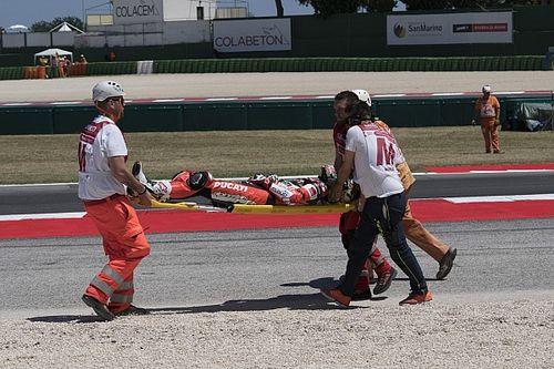 Absen di Race 2, Davies derita retak tulang punggung