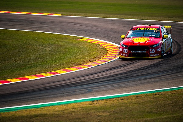 Supercars Darwin Supercars: Coulthard pips McLaughlin in Race 1
