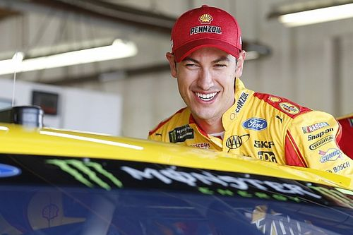 "Logano ""stops the bleeding"" with third place finish at Michigan"