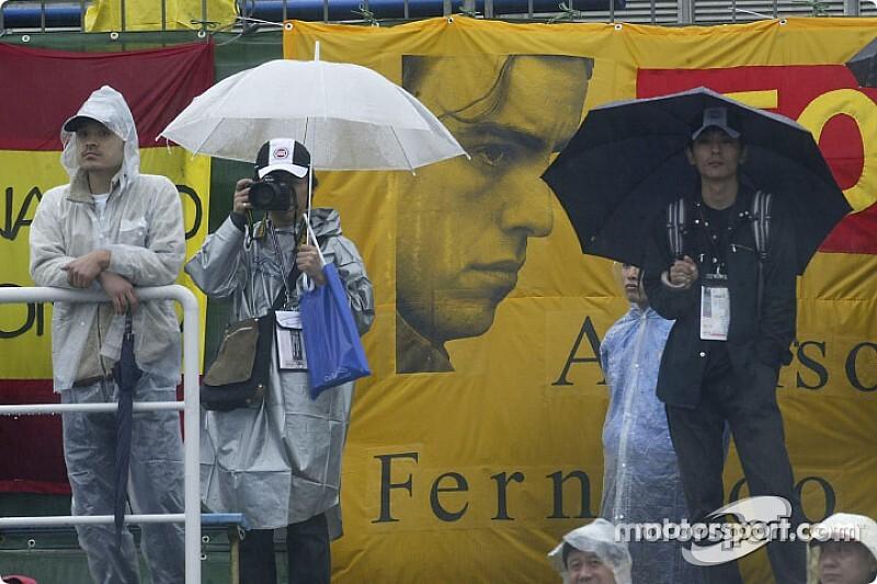 """台风""""海贝思""""威胁日本大奖赛排位赛正常举行"""