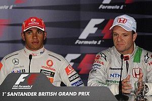F1: Barrichello crê que Hamilton vai superar títulos de Schumacher