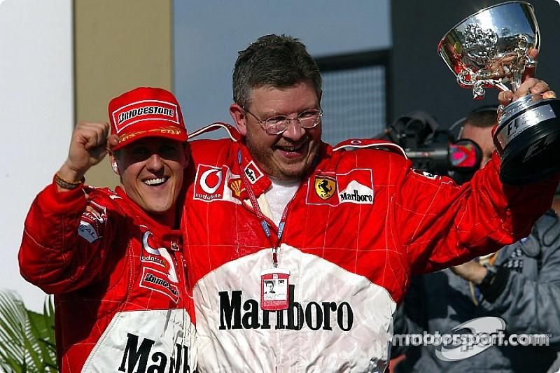 Michael Schumacher soha nem habozott, vérprofiként dolgozott