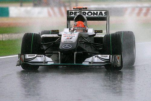 Toutes les Mercedes de l'Histoire de la F1