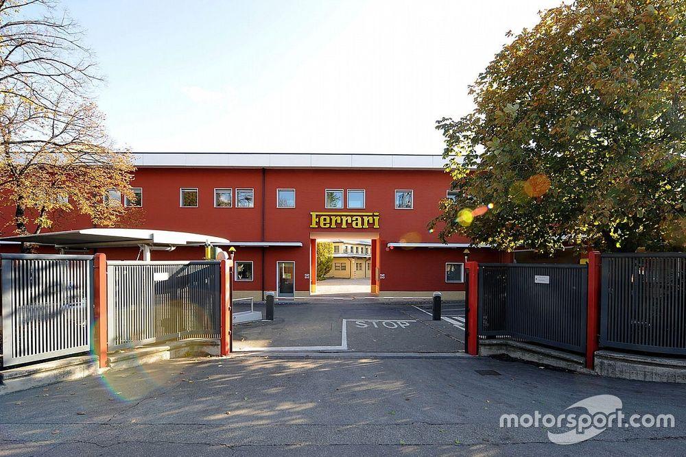 Ferrari suspende sus actividades y cierra sus fábricas